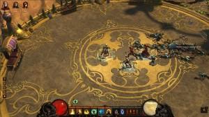 Le palais d'Hakan 2, l'empereur enfant, dans Diablo 3 situé à Caldéum