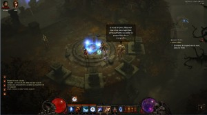 Exemple de discussion avec le templier dans Diablo 3