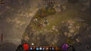Paysage de second plan dans Diablo 3