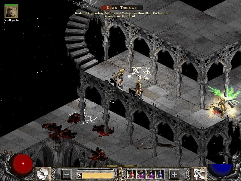 Image de Diablo 2 du sanctuaire des arcanes (DR)
