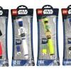 Stylo Lego / Star Wars avec Dard Vador, R2 D2, Yoda et un Stormtrooper