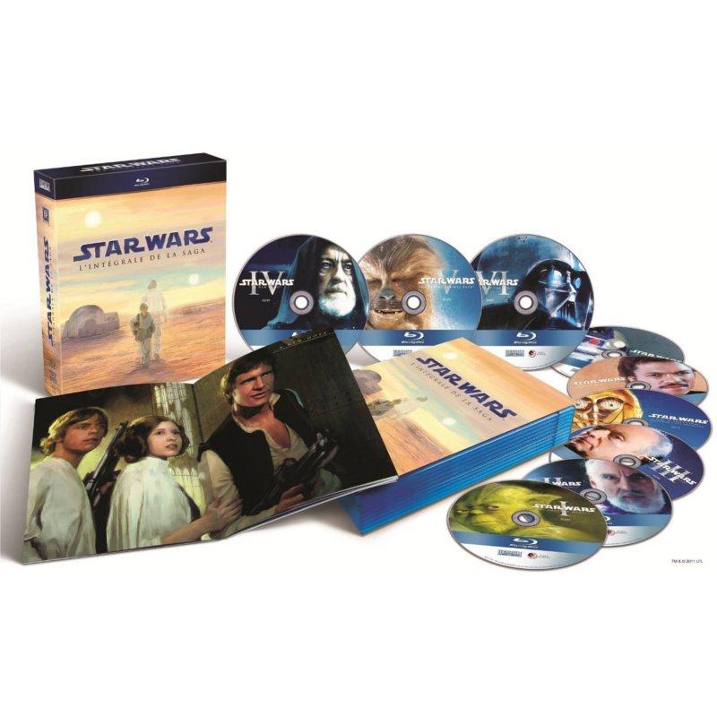 Star Wars : présentation des Blu ray