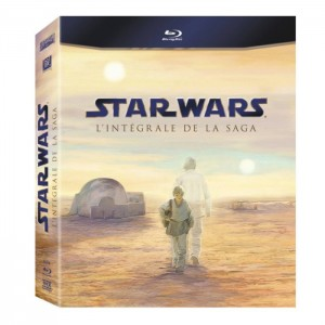 Star Wars : packaging des Blu ray