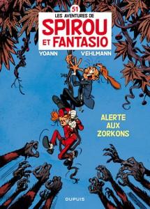 Spirou et Fantasio - Tome 51 : Alerte aux Zorkons
