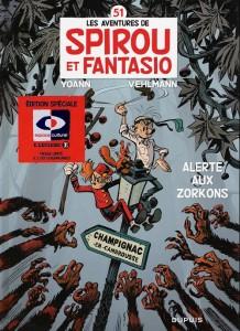 Spirou et Fantasio - Tome 51 : Alerte aux Zorkons (édition limitée - couverture collector)