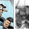 La remarque de Spip fait référence à l'accident de la central nucléaire de Tchernobyl en 1986