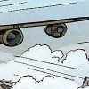 Le design du bombardier évoque un croisement entre un drone et un bombardier B-29 Superfortress