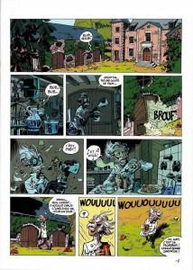 Page 1 du tome 51 de Spirou et Fantasio : Alerte aux Zorkons
