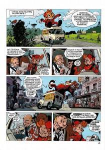 Page 4 du tome 51 de Spirou et Fantasio : Alerte aux Zorkons