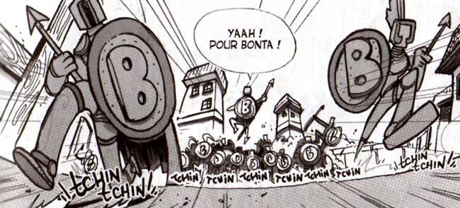 Les 300 Bonsiates (Dofus Tome 6)