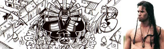 Gart Gartigan est une allusion au guerrier Mad Martigan (Dofus tome 6)
