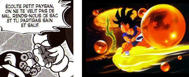 Une des sorcières a un collier fait avec les Dragon Ball (Dofus Tome 6)