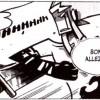 Goultard sort son épée de son avant-bras (Dofus Tome 7)