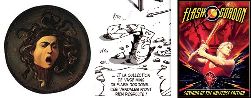 Flash Gorgone est une allusion à Flash Gordon (Dofus Tome 7)