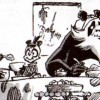 Zatoïshwan apprécie la vie au village (Dofus Monster tome 7)