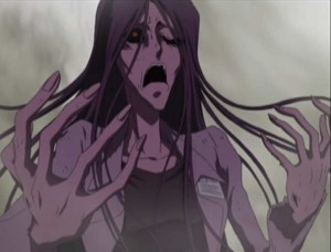 La zombie cède à une panique irrationnelle (Herlock, Endless odyssey - Episode 6)