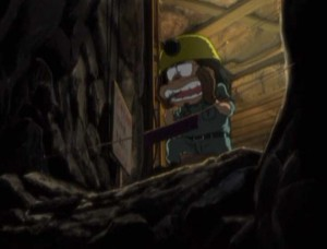 Takematsu part en mission de sauvetage (Albator - Herlock, Endless Odyssey)