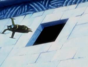 Albator entre dans la pyramide (Herlock, Endless Odyssey)