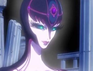 La gardienne de la Pyramide Lunaire ressemble à sa sœur Terrestre (Albator - Herlock, Endless Odyssey)