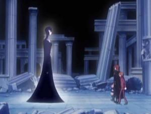 Albator refuse d'aider la gardienne (Herlock, Endless Odyssey)