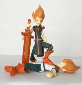 Figurine Iop et Dark Vlad (Dofus)