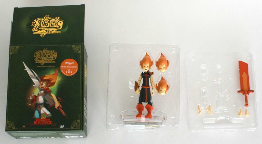 Contenu de la bote de la Figurine Dark Vlad (Dofus - Krosmoz)