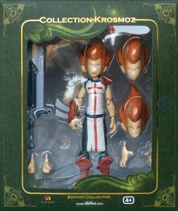 packaging face de la figurine iop (Dofus - Krosmoz)