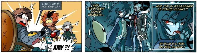 Amy a vu Ténébris tuer le comte Kasino (Légendaires - Tome 14)