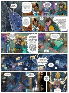 Page 4 du tome 14 des Légendaires