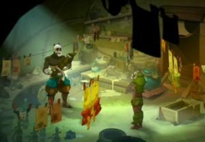 la maison de Pandiego de la Vega (Wakfu - épisode 13)