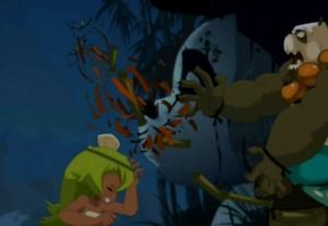 Jack Pandaniel attaque Amalia  (Wakfu - épisode 13)