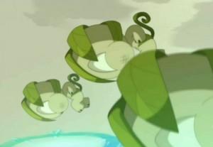Trois portails sont ouverts en même temps par Yugo  (Wakfu - épisode 13)