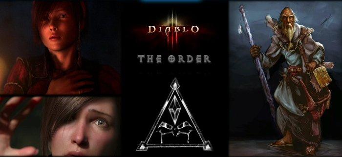 Image du roman the Order (Diablo) de Nate Kenyon montrée lors de la Blizzconv 2011