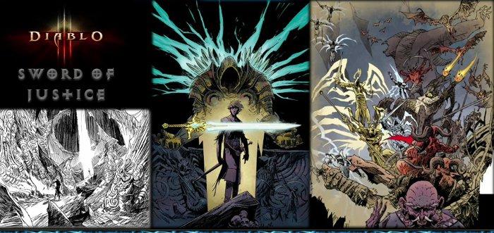 Première Images du comics Sword of Justice (tiré de Diablo) diffusé à la Blizzcon 2011