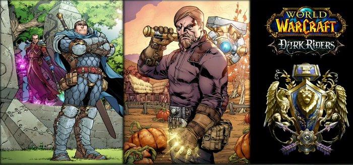 Image du comics Dark Riders (Warcraft) diffusé à la Blizzcon 2011. Ce comics va s'intéresser à l'Alliance