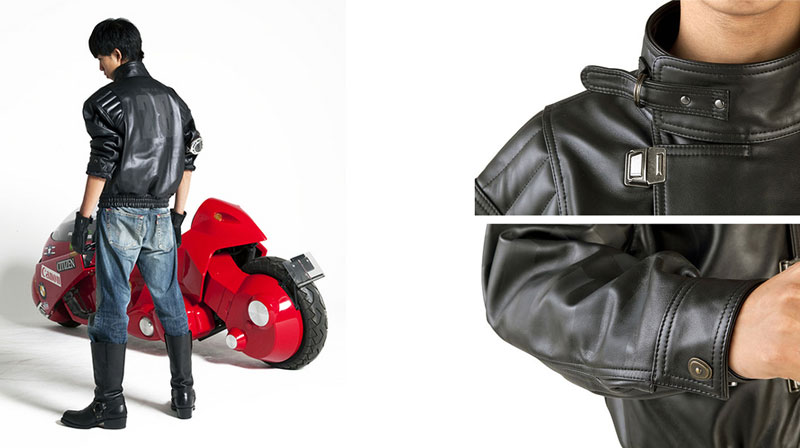 Blouson Noir Kaneda 30 ème anniversaire