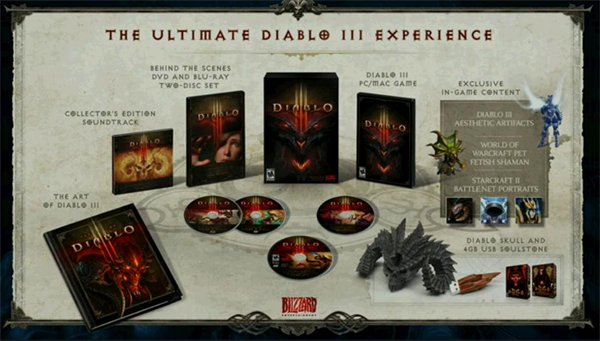 Image de l'édition collector de Diablo 3