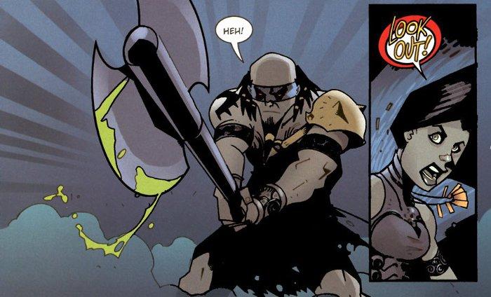 Images tirées du chapitre Hand of Naz du comics Tales of Sanctuary (Diablo)