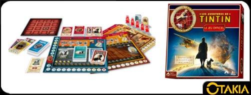 Jeu de société Les aventures de Tintin, prêt à découvrir le secret de la Licorne ?