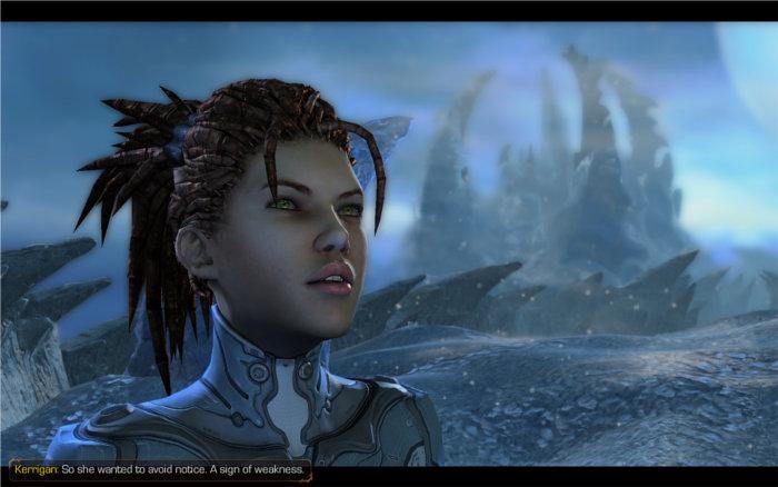 Kerrigan dans Starcraft 2