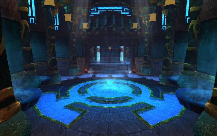 Salle de Mists of Pandaria