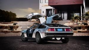 DeLorean électrique