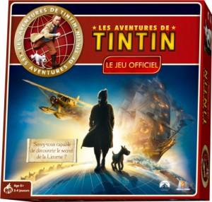 Couverture du jeu de société les aventures de Tintin