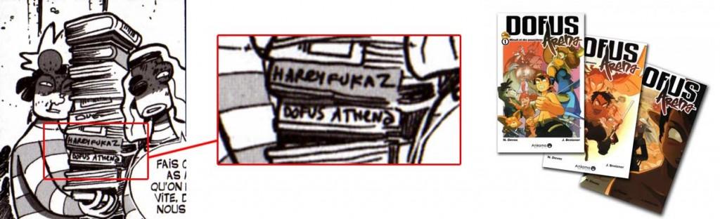 Le titre Dofus Athena est un clien d'oeil à Dofus Arena