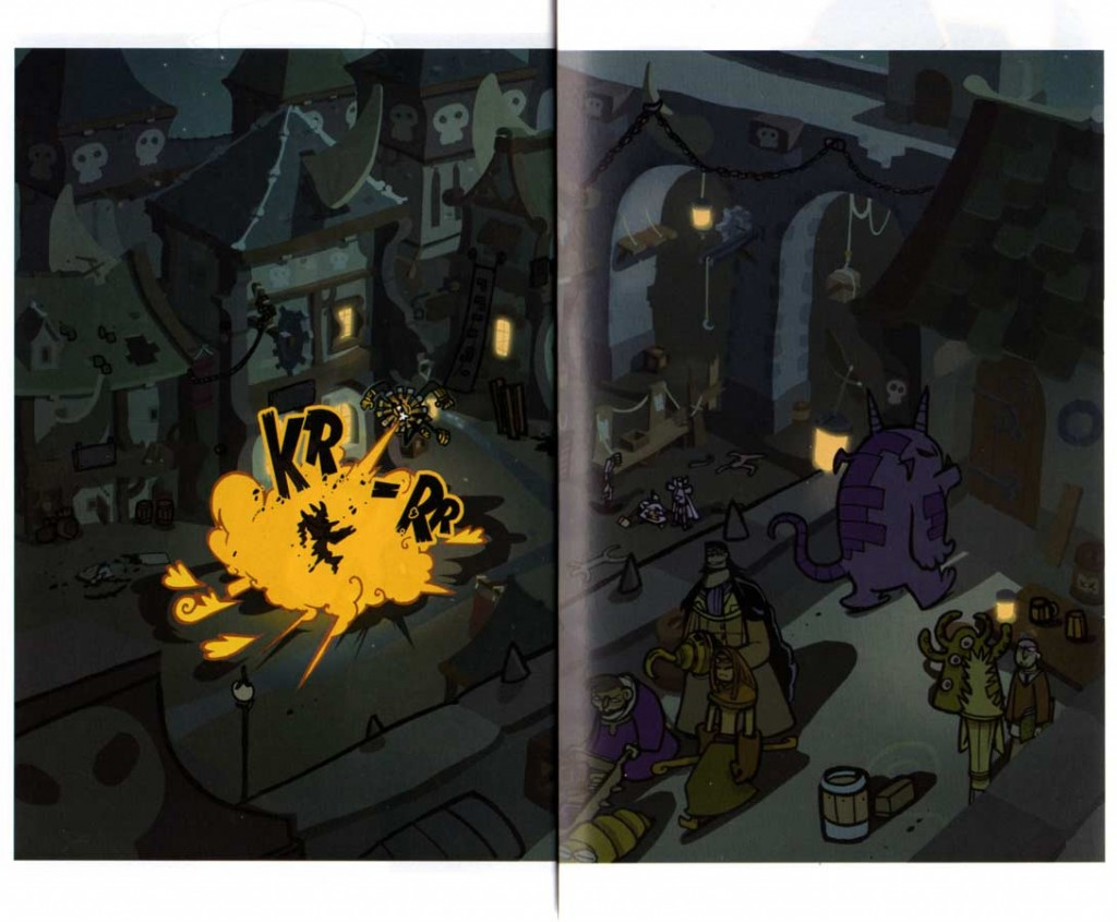 Page 2 et 3 du tome 8 de Dofus