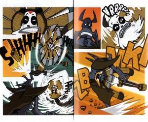 Page 6 et 7 du tome 8 de Dofus