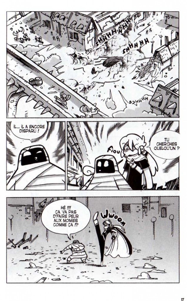 Page 7 du Tome 9 de Dofus
