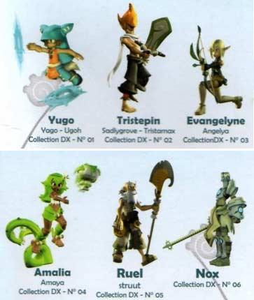 Figurines Wakfu : collection DX