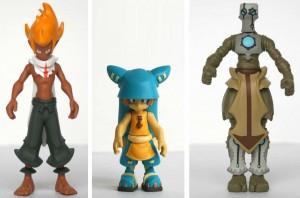 Figurines Wakfu HW : Tristepin, Yugo et Nox