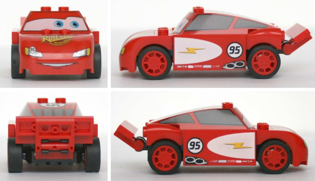 Cars 2 - Lego 8200 - Flash McQueen